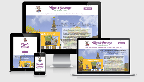Nyger's Journeys website created by Resolve Web Studio